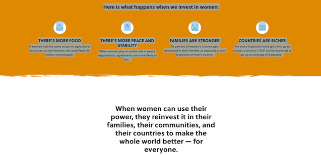 Thanks for Women Investing in Women